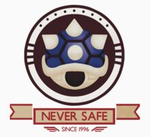 Never Safe - Mario Kart  Kids Tee