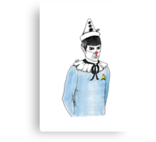 Spock the Clown Canvas Print