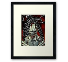 Alien Nightmares Framed Print