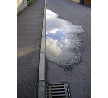 cloud puddle Photographic Print