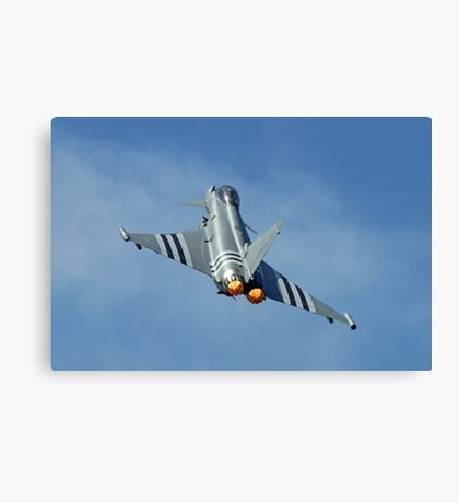 Afterburners On - Eurofighter Typhoon  - Farnborough 2014 Canvas Print