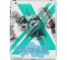 I Play with Dolls - Xenoblade Chronicles X iPad Case/Skin