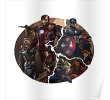 The Avengers 2 -Age of Ultron Logo Poster