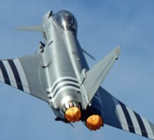 Afterburners On - Eurofighter Typhoon  - Farnborough 2014 Sticker