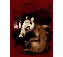 Cubone in the woods Photographic Print