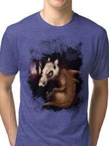 Cubone in the woods Tri-blend T-Shirt