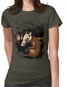 Cubone in the woods Womens Fitted T-Shirt