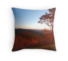 Shenandoah Autumn Sunrise Throw Pillow