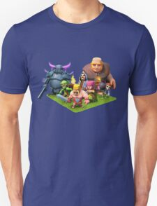 Clash of Clans Characters Art T-Shirt