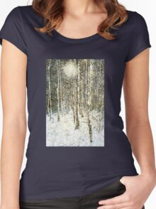 Winter Wood Women's Fitted Scoop T-Shirt