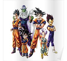 Dragonball z Charcters Poster