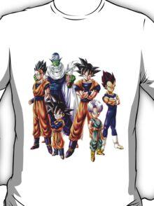 Dragonball z Charcters T-Shirt