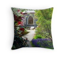 Back Door to Heaven Two Throw Pillow