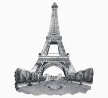 Eiffel Tower by weirdpuckett