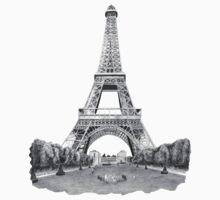 Eiffel Tower by weirdpuckett