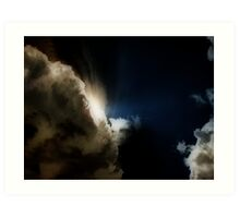 The Storm (Best viewed by clicking to zoom) Art Print