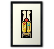 Ramesses the Great's Cartouches Framed Print