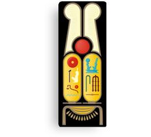 Ramesses the Great's Cartouches Canvas Print