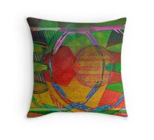 Bass and Drum Throw Pillow