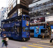 Hong Kong Trolly Car by richeltong