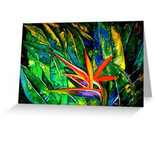 The Bird of Paradise Greeting Card