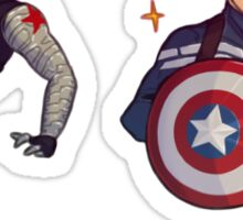 Captain America & Bucky stickers Sticker