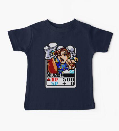 Chun Li - Street Fighter Baby Tee