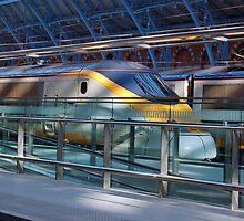 Eurostar at St pancras by woolleyfir