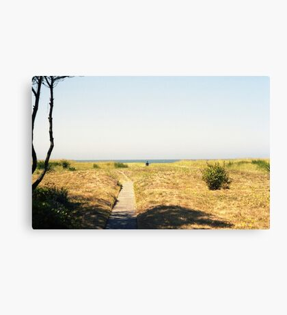 Heading out to sea. Canvas Print