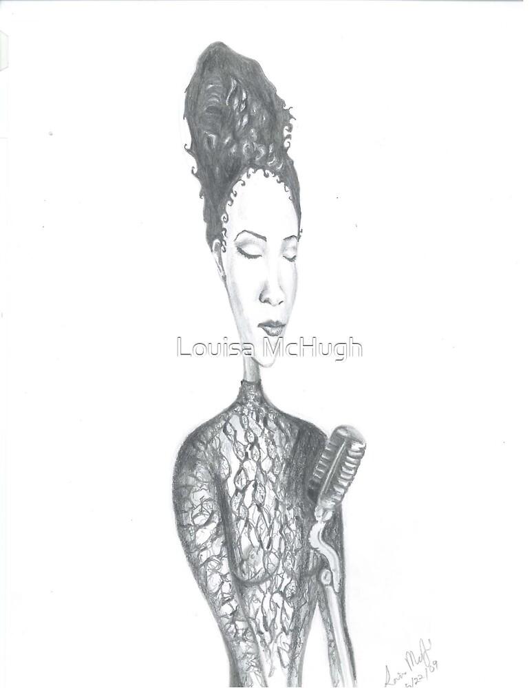 Nina Simone by Louisa McQ