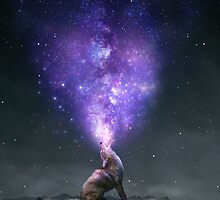 All Things Share the Same Breath (Coyote Galaxy) by soaringanchor