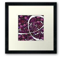 Pink Ribbon Support Framed Print