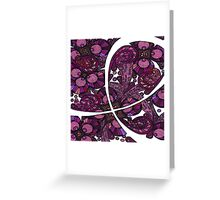 Pink Ribbon Support Greeting Card