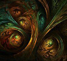 A Walk Through the Dark Forest by Lyle Hatch