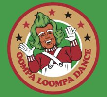 Oompa Loompa Dancing Funny Kids Clothes