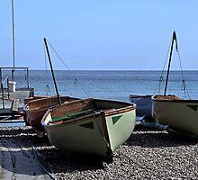 Twin Boats, Tweedledum and Tweedledee... by lynn carter