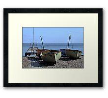 Twin Boats, Tweedledum and Tweedledee... Framed Print