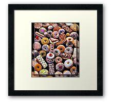 Holy Donuts, Batman!@#$%^& Framed Print