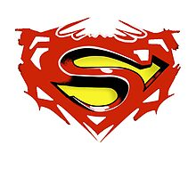 Superman art Logo by MorgyG
