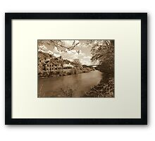 The Ironbridge View 6 Framed Print