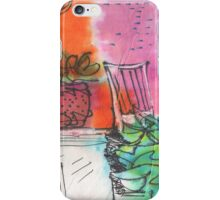 ON THE PATIO(C1998) iPhone Case/Skin