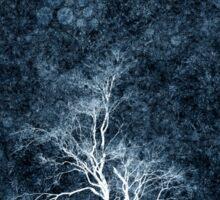 Midnight Ice Storm Sticker