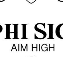 Phi Sigma Sigma Prada Sticker