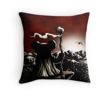 A Long Walk Ahead Throw Pillow