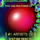 # 1 Artists of Redbubble by wutz4tea