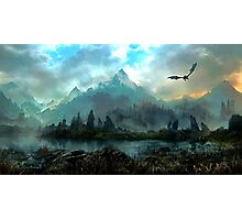 Dragon Mountain Photographic Print