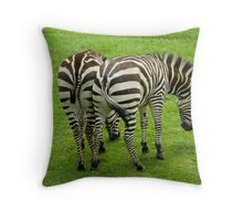 Nudging Throw Pillow
