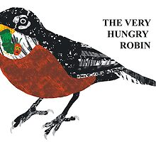 The Very Hungry Robin by graffd02