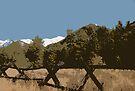 "'Good fences, make......."" by John Schneider"