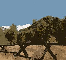 "'Good fences, make......."" by John Schneider"